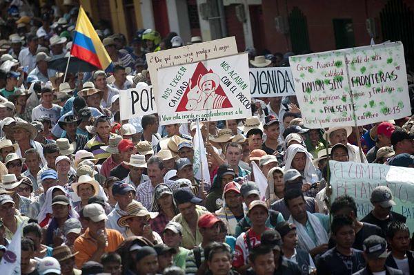 Campesinos-colombianos