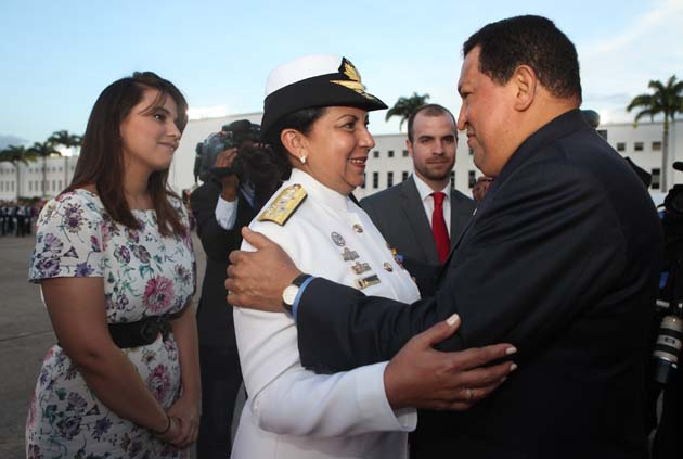 melendez con Chavez