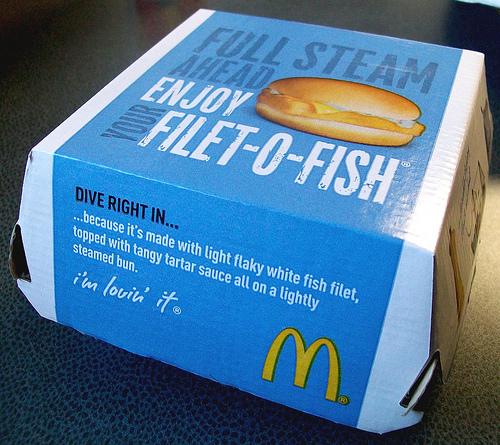 presentación del Filet Fish