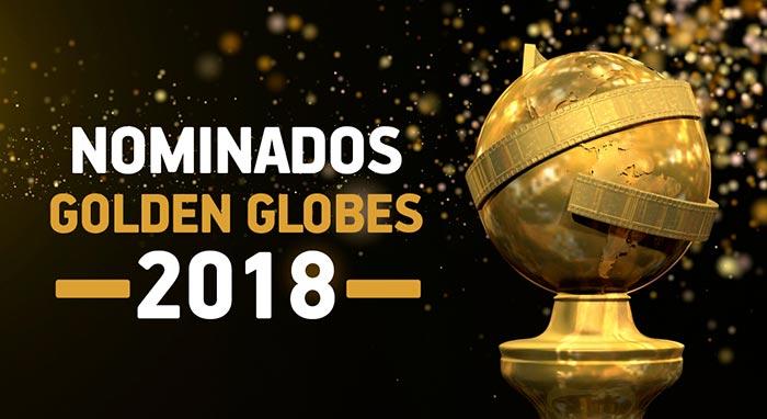 lista de los nominados Globos de Oro 2018