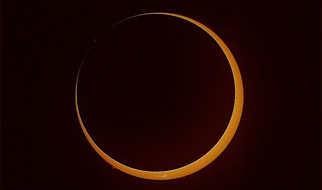 Primer eclipse solar 2014