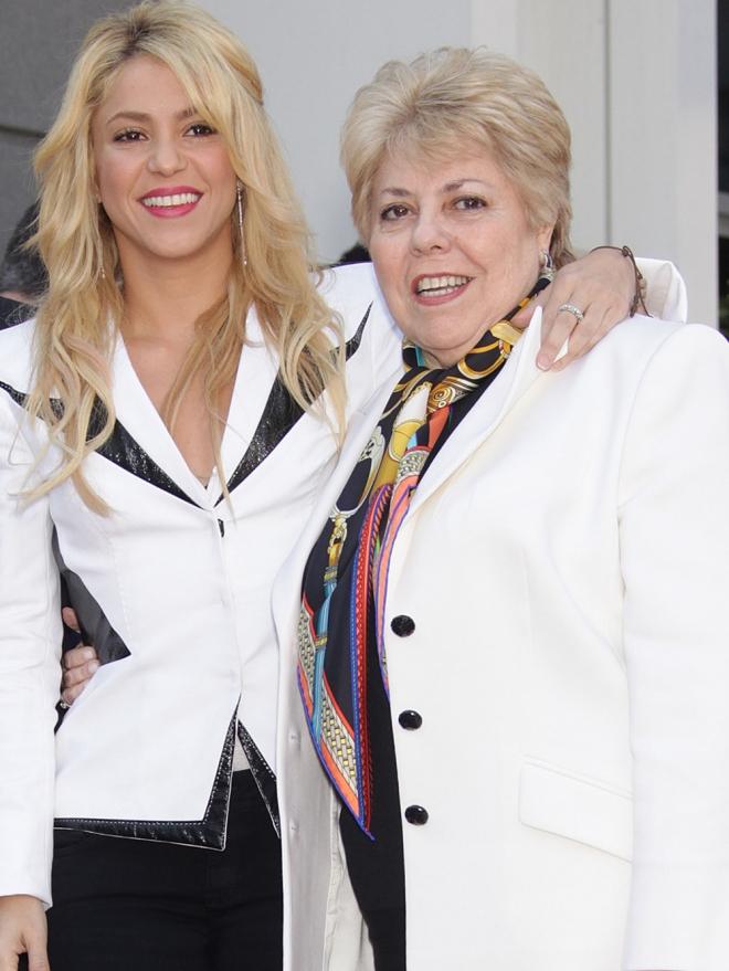 Shakira con su madre, Nidia Ripoll: colombianas con raíces catalanas