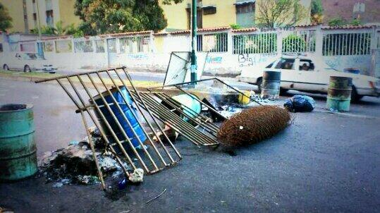 Barricadas Petare - Caricuao
