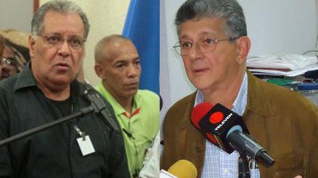 Ley de amnistía. Edgar Márquez y Ramos Allup