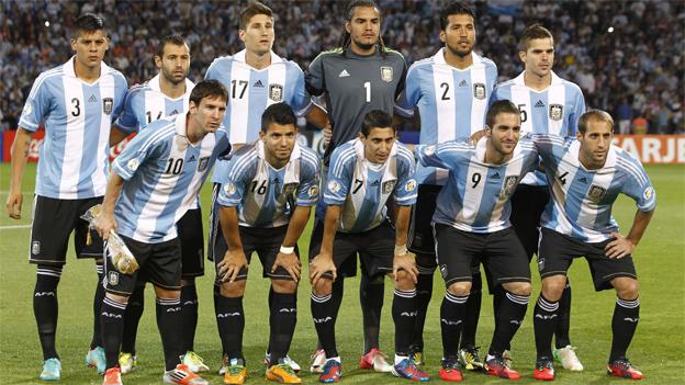 Selección al mudial de Brasil