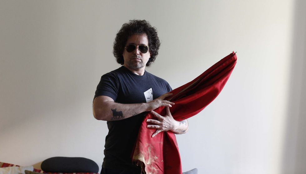 Andrés Calamaro taurino