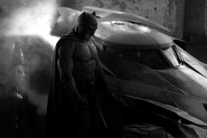 Fotograma de la nueva película de Batman