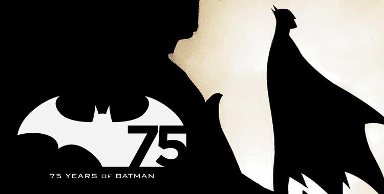 Imagen que celebra 75 años de Batman