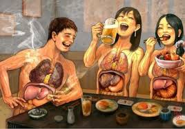 Ilustración de nuestros hábitos de consumo
