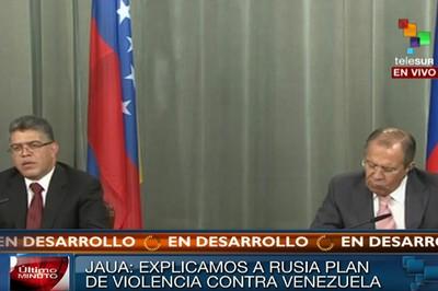 Rueda de prensa Elias Jaua y Sergei Lavrov