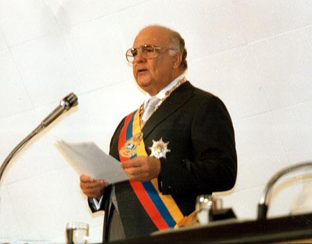 Jaime Lusinchi discurso