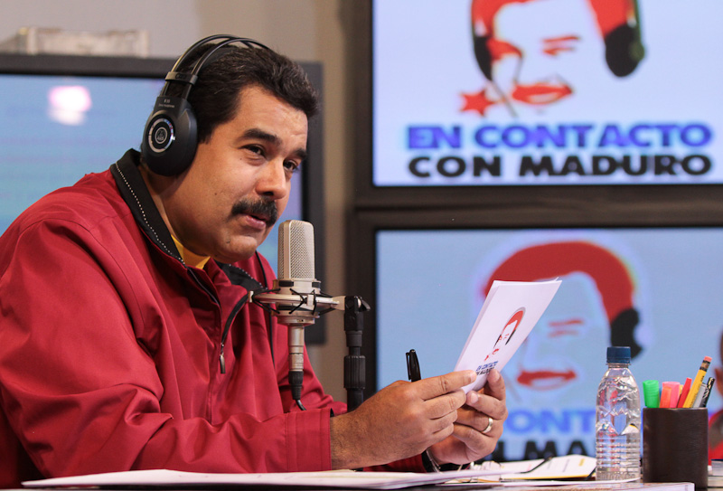 Presidente Maduro en su programa de radio