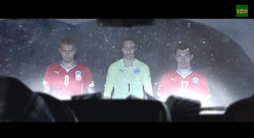 """Comerciales """"Chile Mete miedo""""- Selección Chilena de Fútbol"""