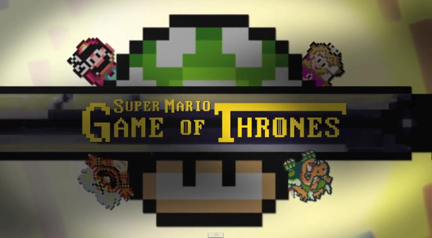 Intro Game of Thrones versión Super Marios