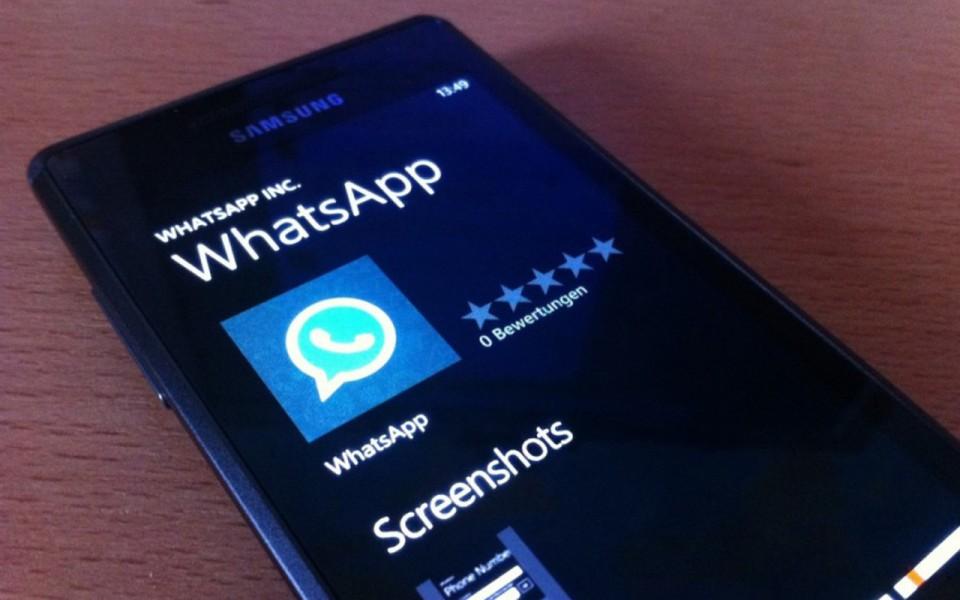 WhatsApp vuelve a estar disponible