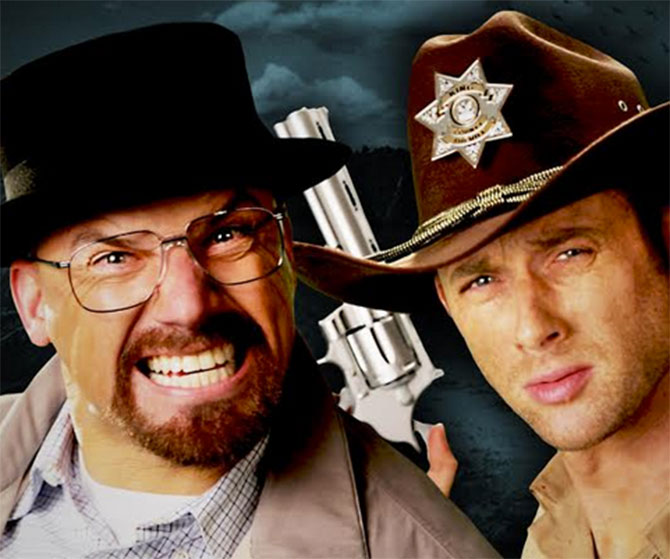 The Walking Dead y Breaking Bad se enfrentan en un rap