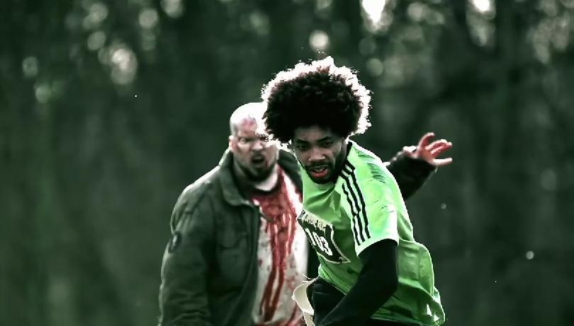 Carrera de zombies