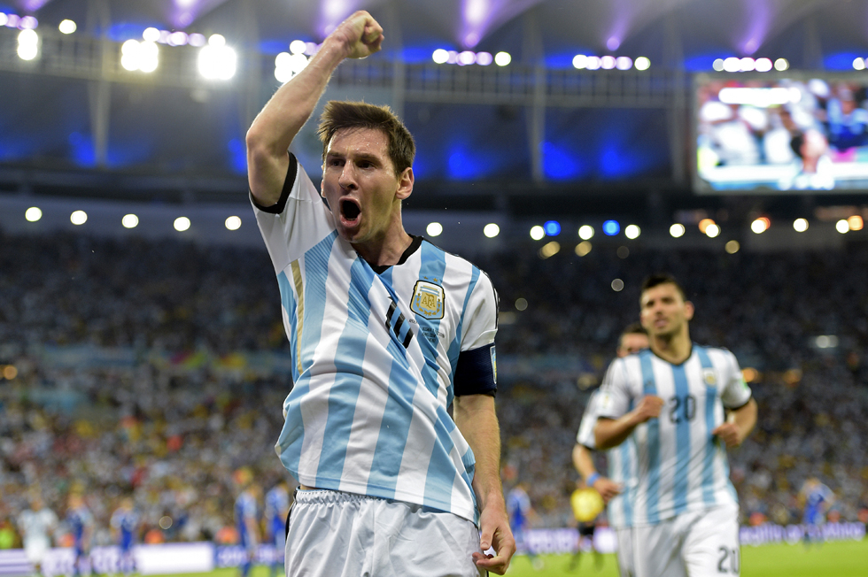 Gol de Messi pulveriza el récord del Mundial
