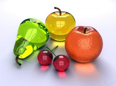 3D Fruta