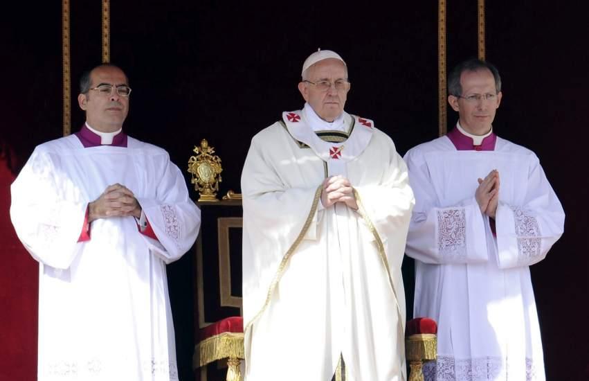 El papa abogó por la paz en Ucrania