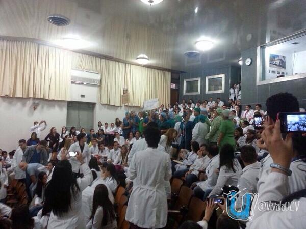 Emergencia del Hospital Universitario