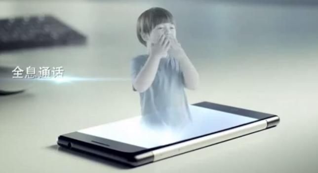 Smartphones y hologramas