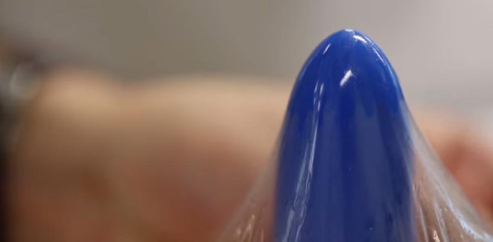 Condón con celula de hidrogel