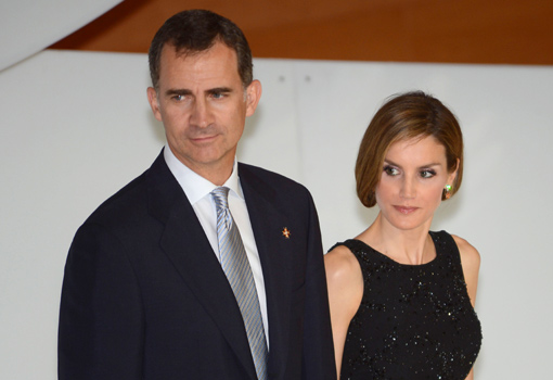 Felipe VI de España y la reina Letizia