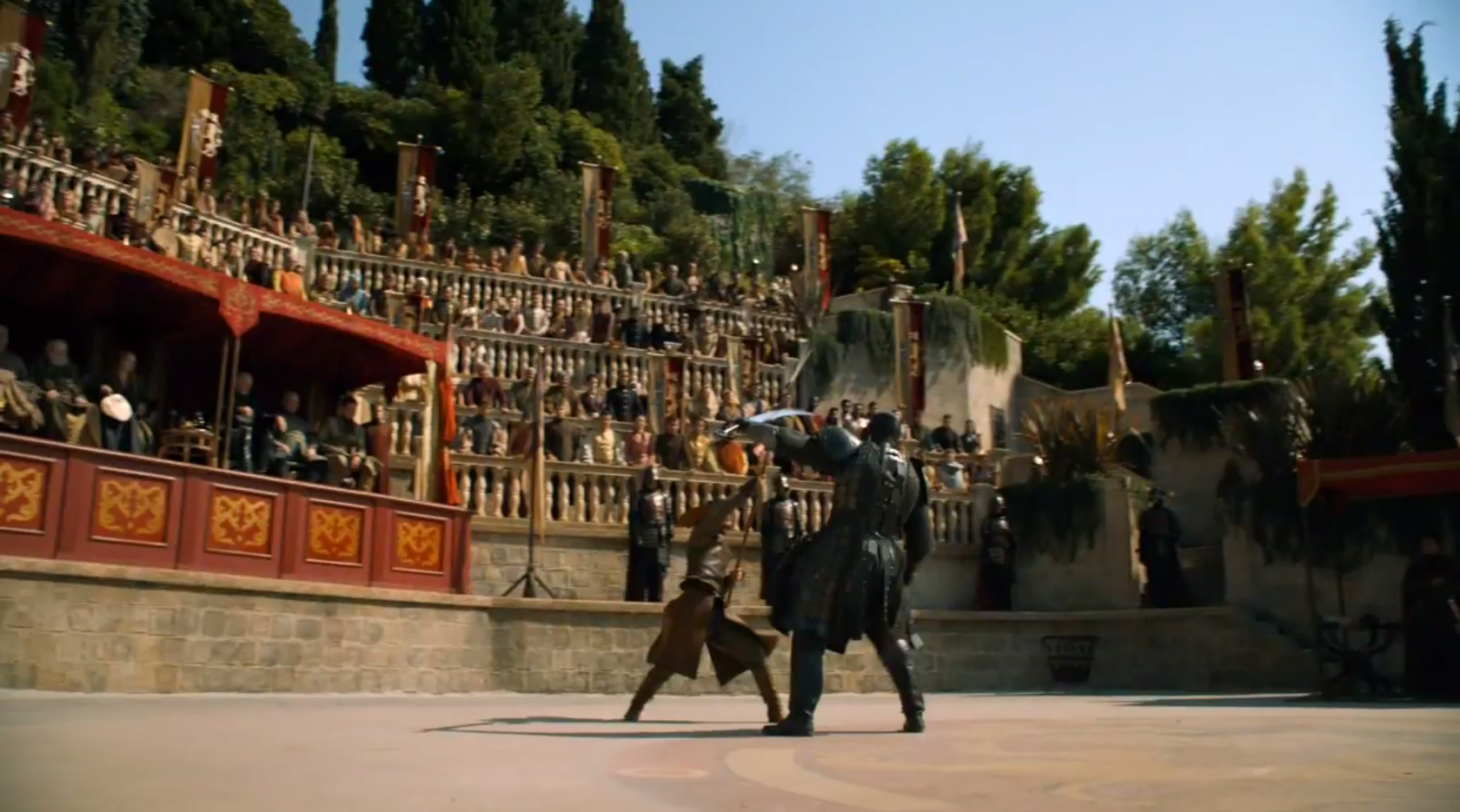 Games of Thrones-Episodio de la pelea