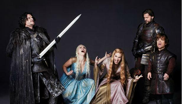 Games of Thrones: Elenco en plena descarga