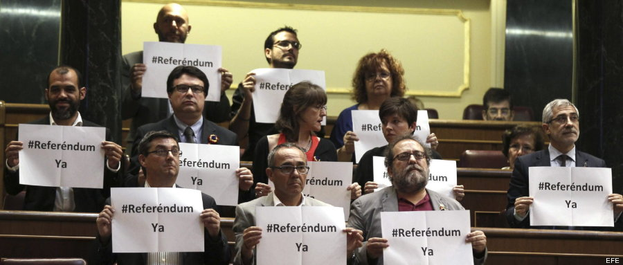 España: Izquierda unida pide referendum