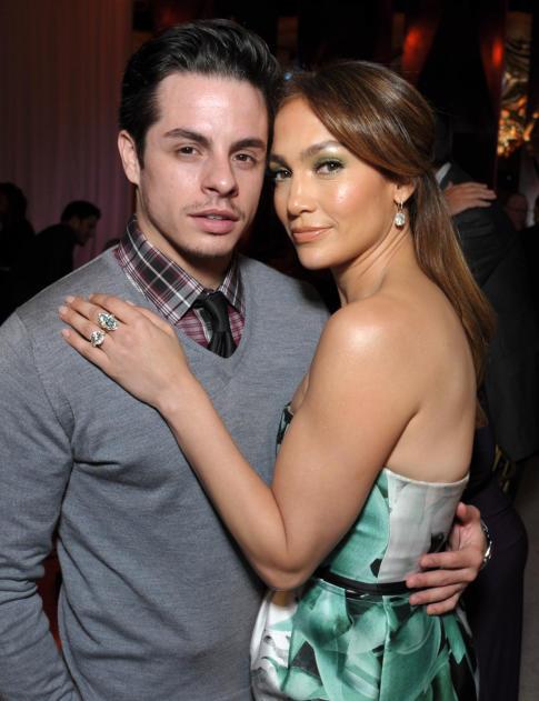Jennifer López y su novio