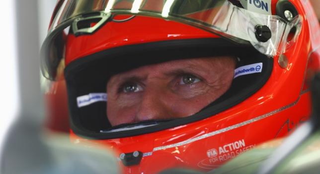 Michaell Schumacher sale del coma y del hospital