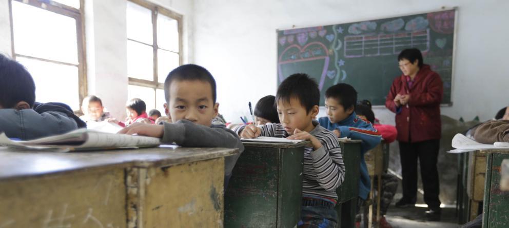 China: niños de primaria