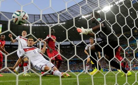 Klose iguala a Ronaldo como máximo goleador en mundiales
