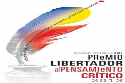 Premio Libertador al Pensamiento Crítico 2013