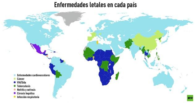 mapa de enfermedades