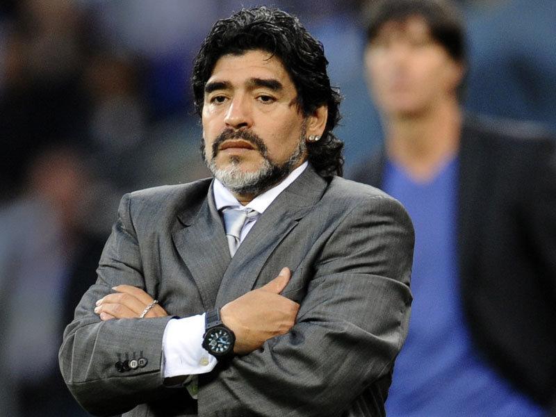 Maradona: Pelé y Beckenbauer