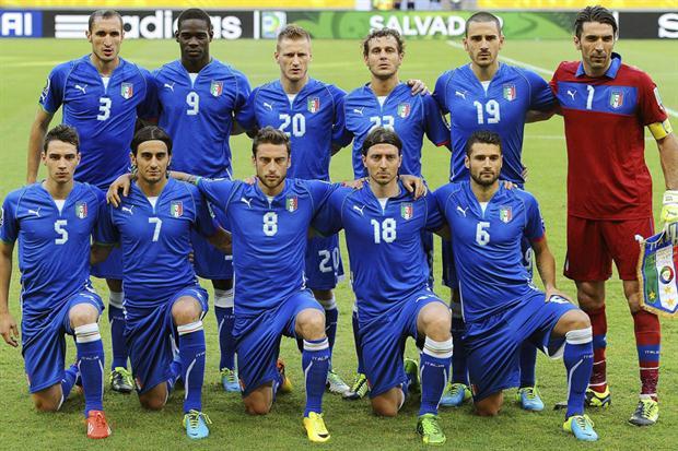 Los 23 de Italia para Brasil 2014
