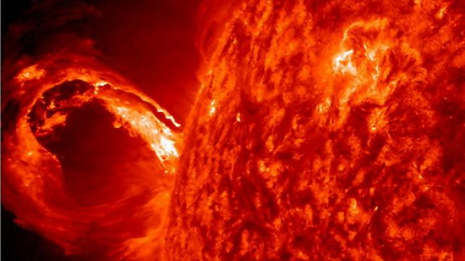 gran eyección de masa coronal