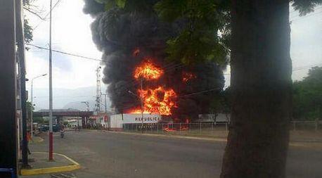 incendio Ureña