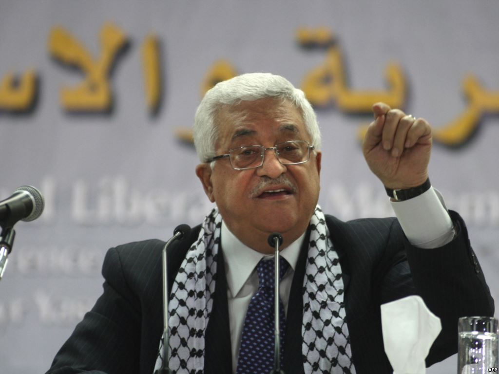Gaza: Ministro Palestino Mahmud Abbas,