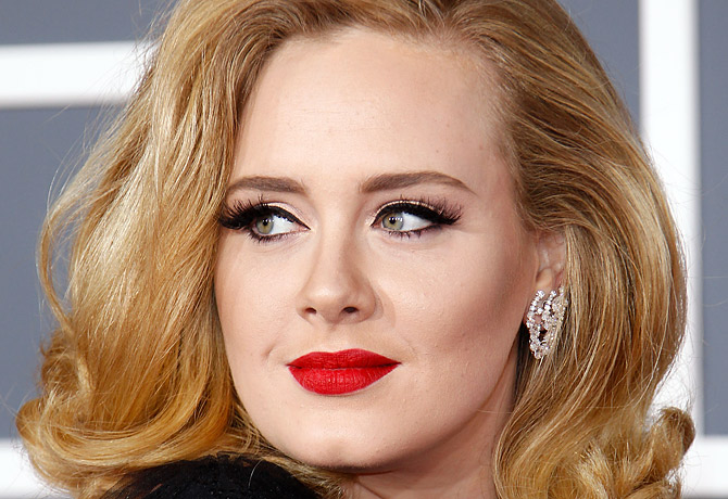 Adele: Close up