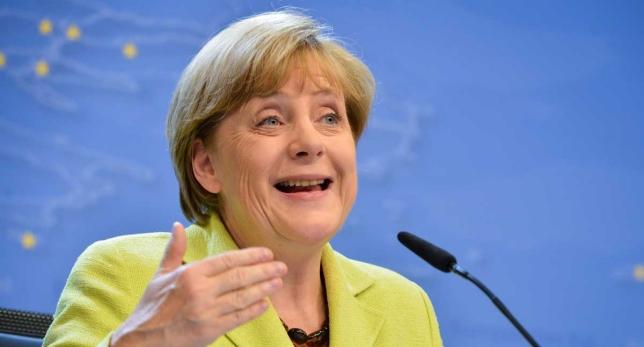 Angela Merkel rueda de prensa