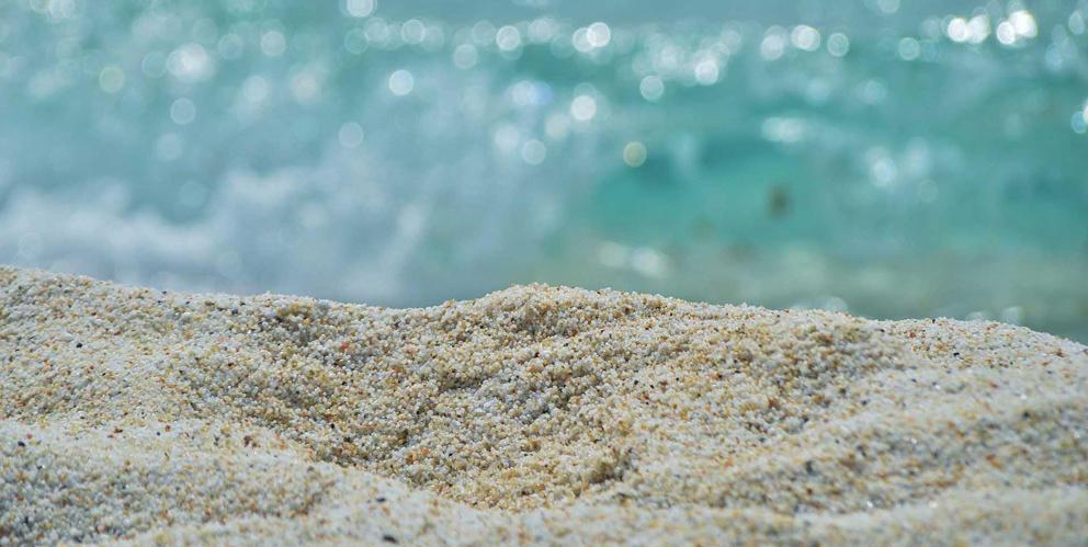 Arena playa y sol
