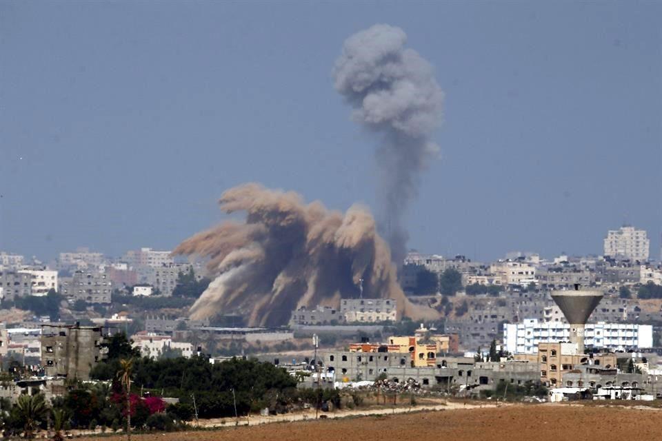 Gaza: Bombardeos al sur de la ciudad