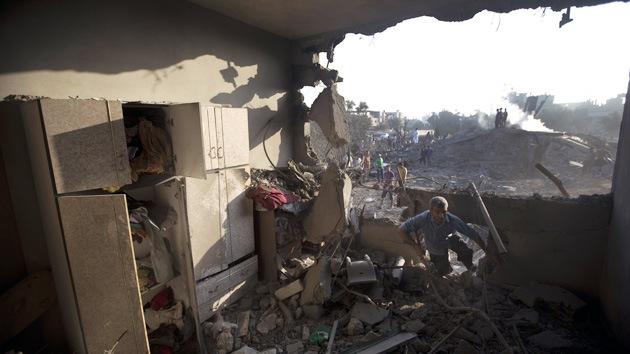 Gaza: Casa destruída bombardeo israelí