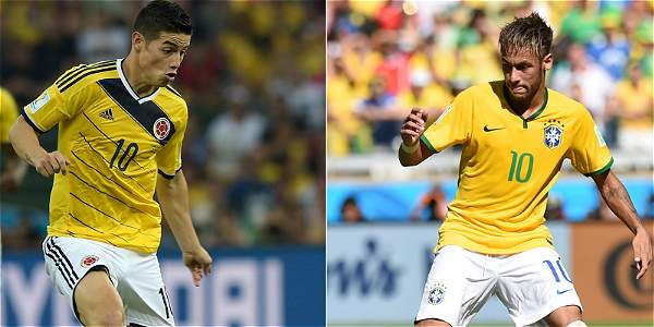 James vs. Neymar, los 'cracks'