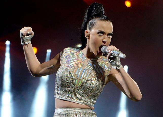 Katy Perry en concierto