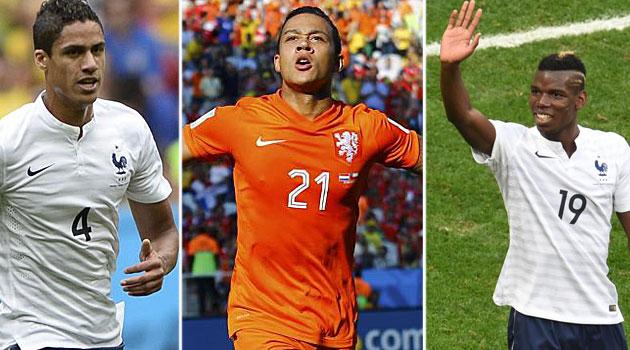 Nominados a jugador joven del Mundial